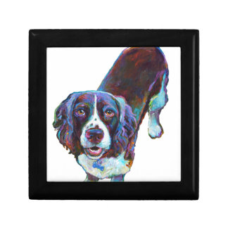 Cute Cocker Spaniel by Robert Phelps Gift Box