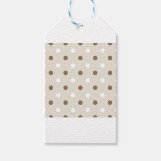 Cute coffee Dots creative T-Shirts Gift Tags