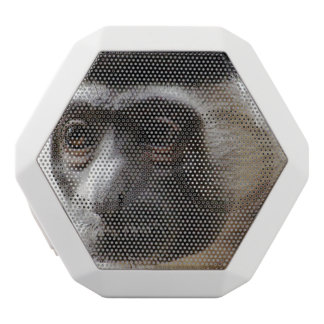 Cute Colobus Monkey White Boombot Rex Bluetooth Speaker