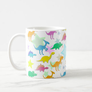 Cute Color Dinosaurs Mug