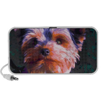 Cute Colored Terrier Portable Speakers