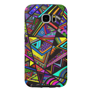 Cute colorful abstract drawing patterns design
