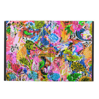 Cute colorful abstract mixed paisley flowers powis iPad air 2 case