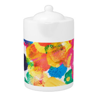 Cute colorful abstract painting