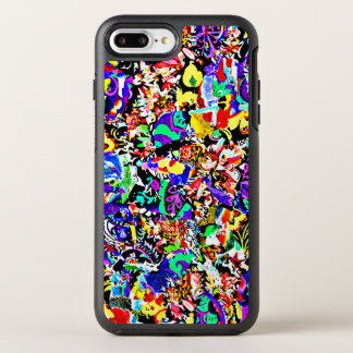 Cute colorful abstract painting OtterBox symmetry iPhone 8 plus/7 plus case
