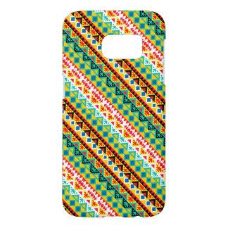 Cute colorful aztec patterns design