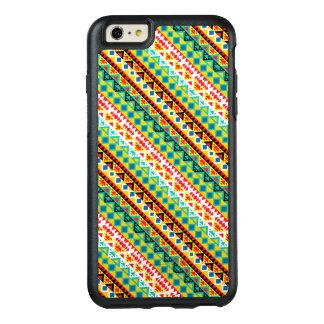 Cute colorful aztec patterns design OtterBox iPhone 6/6s plus case