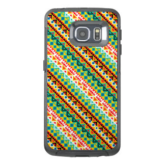 Cute colorful aztec patterns design OtterBox samsung galaxy s6 edge case