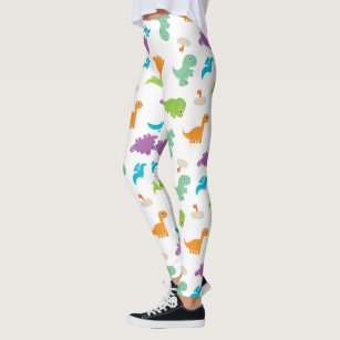 748435599899a Women's Dinosaurs Leggings & Tights | Zazzle AU