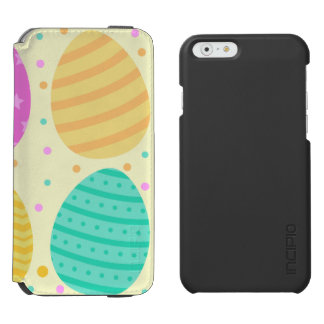 Cute colorful easter eggs pattern incipio watson™ iPhone 6 wallet case