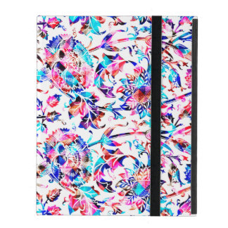 Cute colorful floral design covers for iPad