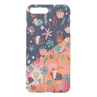 Cute Colorful Flowers Modern Geometric Design iPhone 8 Plus/7 Plus Case