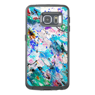 Cute colorful fresque painting design OtterBox samsung galaxy s6 edge case