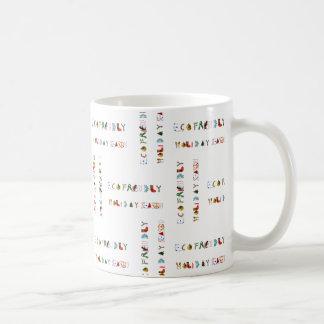Cute Colorful Fun Eco Friendly Holiday Season Mug