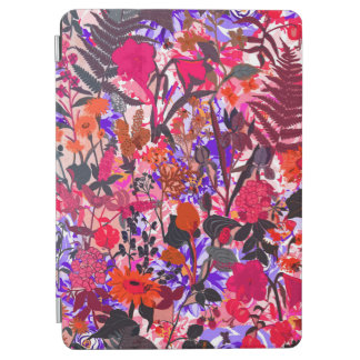 Cute colorful girley vintage flowers mixed iPad air cover