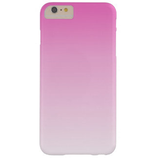 cute colorful girly hot pink fuchsia pink ombre barely there iPhone 6 plus case