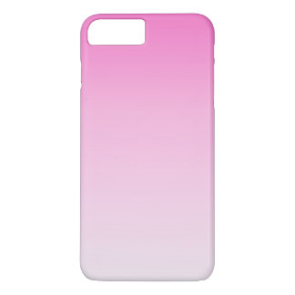 cute colorful girly hot pink fuchsia pink ombre iPhone 7 plus case