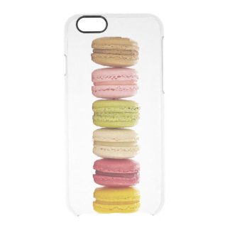 Cute Colorful Girly Macaron Clear iPhone 6/6S Case
