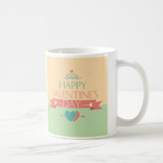 Cute colorful Happy Valentines day design Mugs