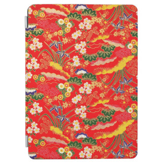 Cute colorful japanese floral patterns iPad air cover