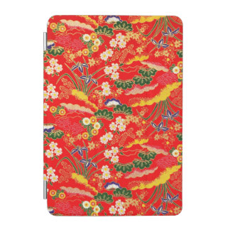 Cute colorful japanese floral patterns iPad mini cover