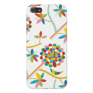 Cute & Colorful Leaf Abstract Texture   Cover For iPhone 5