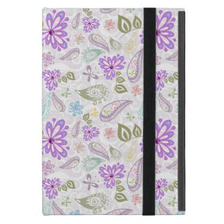 Cute colorful pastel paisley patterns cover for iPad mini