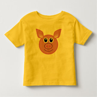 cute colorful pig-gy toddler t-shirt gift idea