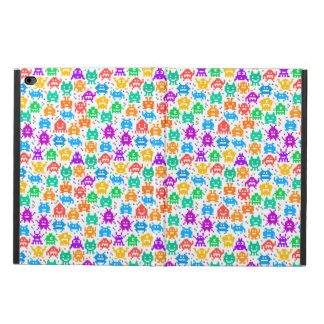 Cute colorful pixelated monsters patterns powis iPad air 2 case