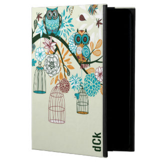 Cute Colorful Retro Flowers & Owls