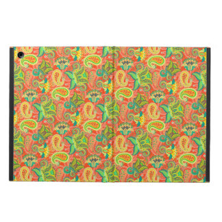 Cute colorful seamless paisley pattern cover for iPad air