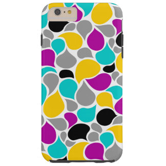Cute colorful seamless patterns design tough iPhone 6 plus case
