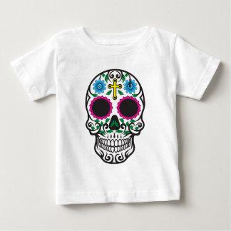 Cute Colorful Sugar Skull Baby T-Shirt