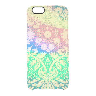 cute colorful tie dye clear iPhone 6/6S case