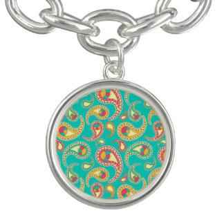 Cute colorful vintage paisley pattern