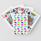 Cute & Colourful Festive Christmas Light Bulbs Bicycle Playing Cards