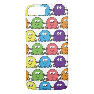 Cute Colourful Octopus - iPhone 7 Case/Skin/Cover iPhone 7 Case