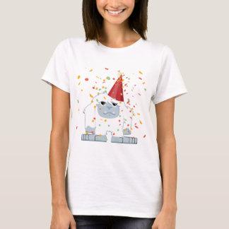 Cute Confetti Party Yeti T-Shirt
