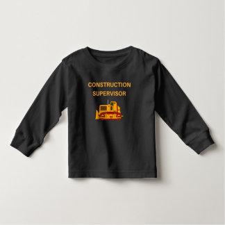Cute Construction Supervisor, Novelty T-Shirt