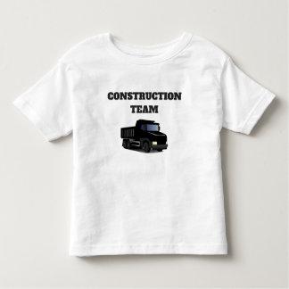 Cute Construction Team, Dump Truck Novelty T-Shirt