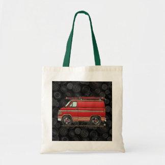 Cute Contractor Van Budget Tote Bag