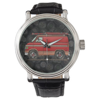 Cute Contractor Van Wristwatch