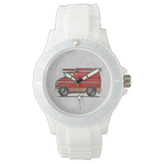 Cute Contractor Van Wristwatch