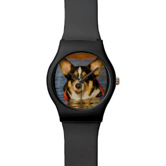 Cute Corgi Design Watches