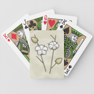 Cute Cotton Boll Playing Cards