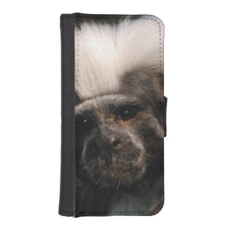 Cute Cotton Topped Tamarin Phone Wallet Cases