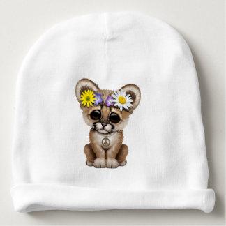 Cute Cougar Cub Hippie Baby Beanie