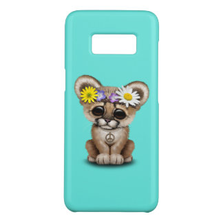 Cute Cougar Cub Hippie Case-Mate Samsung Galaxy S8 Case