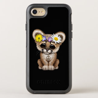 Cute Cougar Cub Hippie OtterBox Symmetry iPhone 8/7 Case