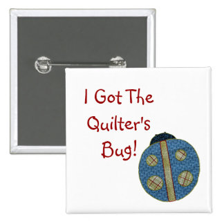 Cute Country Style Quilting Ladybug Pin